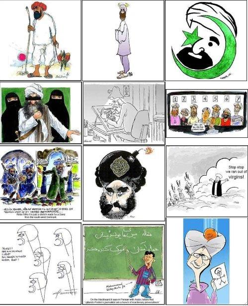 L'affaire des dessins de Mahomet - Mezetulle